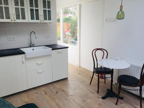 *New* Private guesthouse near Amsterdam build 2020