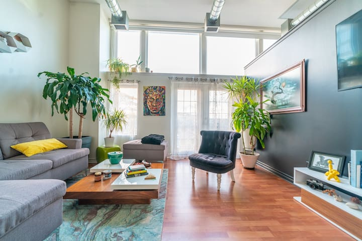 Vibrant Loft in the Downtown Innovation District