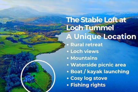 The Stable Loft on Loch Tummel