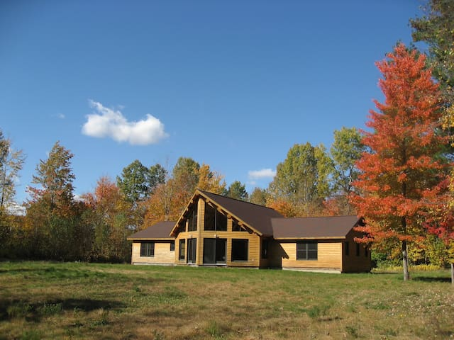 Modern Vermont Cabin on 40 Acres