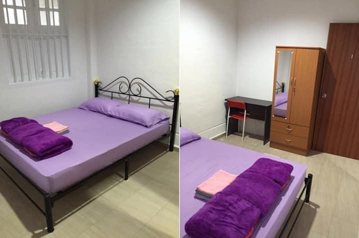 Lavender Rare Balcony Room: 5m walk MRT