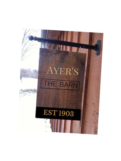 Construit depuis 1903,par un membre de la famille Ayer's