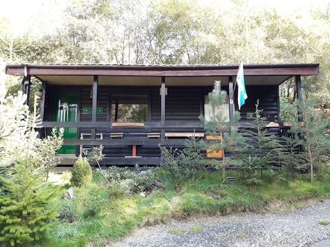 Argyll Retreat , Loch Eck, Argyll Forest Park.