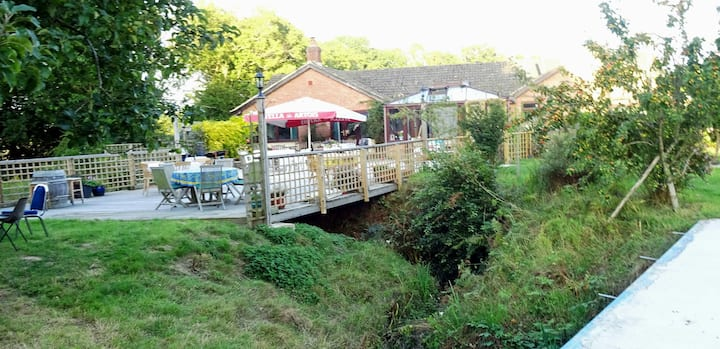 Double Room in the Tranquil Sussex Countryside
