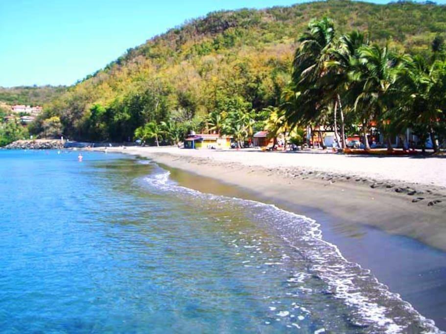 La plage de Malendure (à 10 min.) vous offrira au choix : farniente et bronzette sous les cocotiers ou la pratique de toutes les activités nautiques