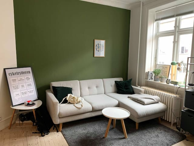 Cozy apartment in Valby
