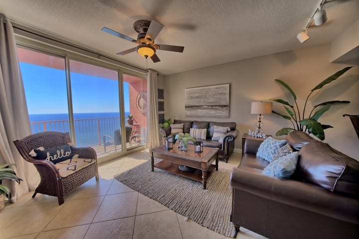Shores of Panama 2115~Sleeps 6~Ocean Front~Best Sunset Views