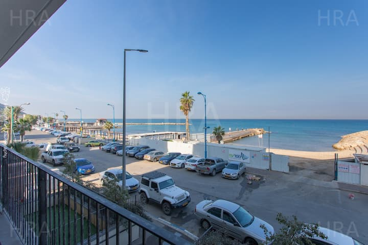 Bat Galim Luxurious Full Sea View Balcony Doctor's