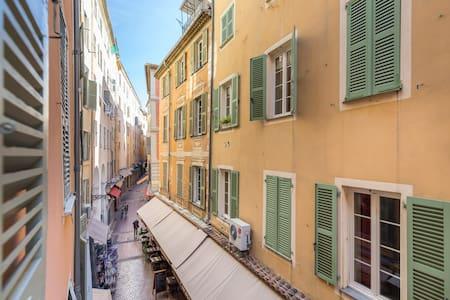 Studio en plein cœur de la vieille ville à Nice