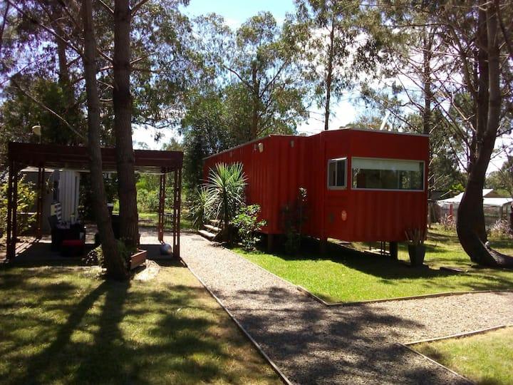 Container Rojo, lugar ideal para el descanso