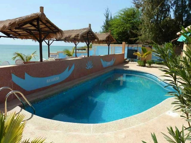 AKWABA, les Cases de la plage