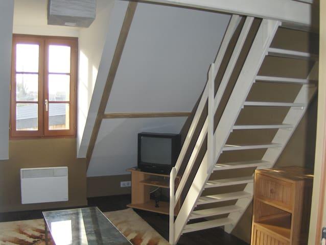Accès chambre mezzanine