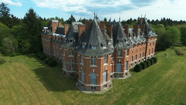 Appartement Historique au Chateau de Rivaulde