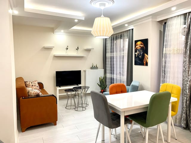 Clean and bright flat with 2 bedroom