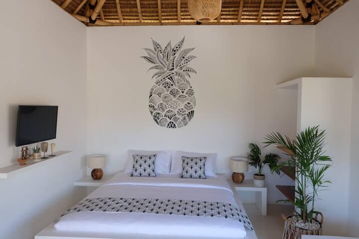 Santorini theme in Mohini Resort - Superior