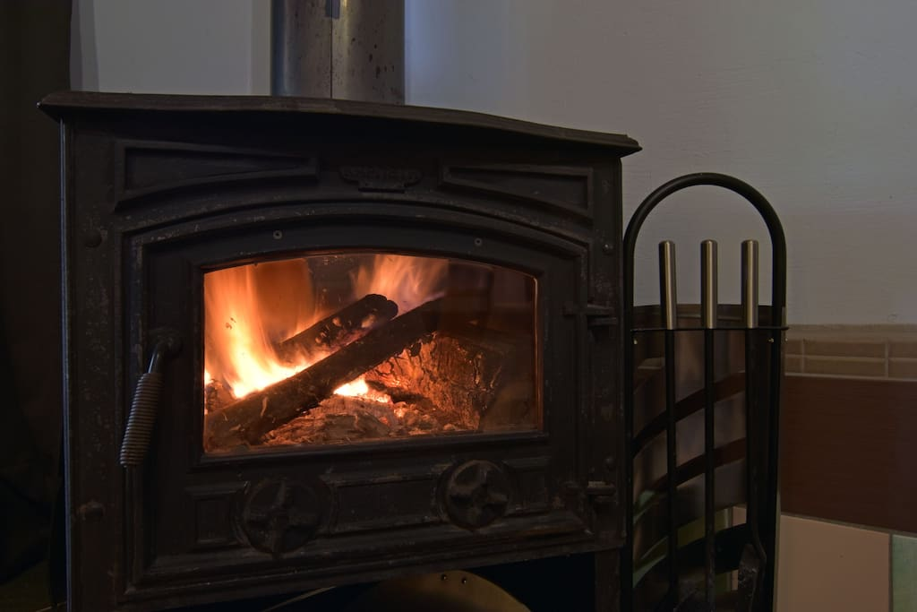 Rooms have a fire stove insted of sencheral heating