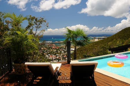 Room in villa with fantastic view - Cole Bay
