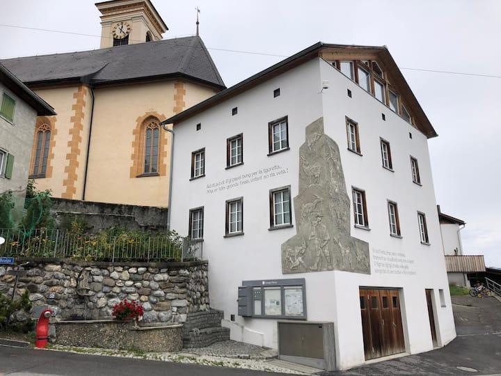 Altes Gemeindehaus, Gästezimmer mit Aussicht