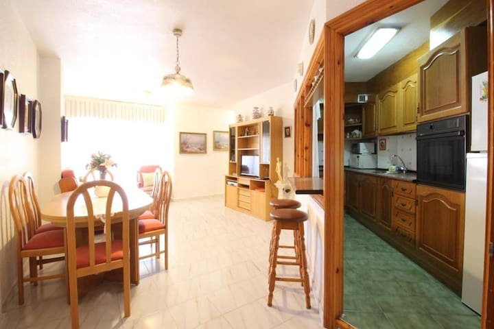 Excellent apartment near the beach in Guardamar