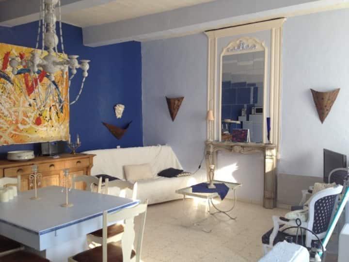 """Les """"Marines"""" appartement à Caderousse (Avignon)"""