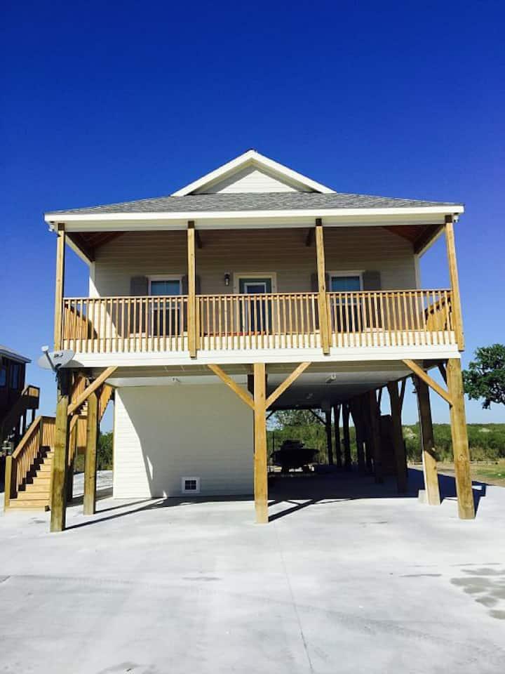 Camp in Hackberry Louisiana