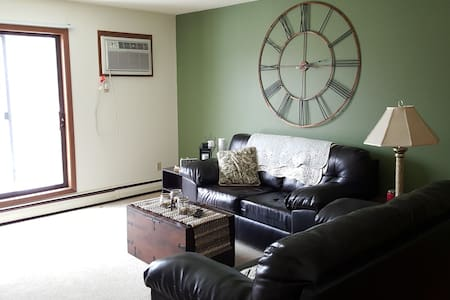 Private apt in a great location!