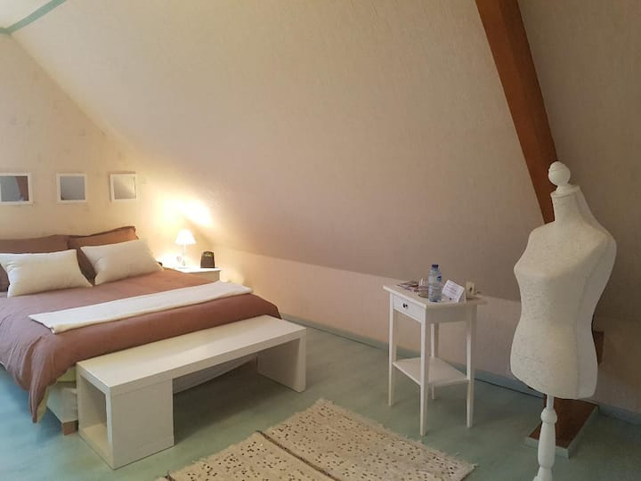 confortable rooms in Sillery near Reims (3 pers)