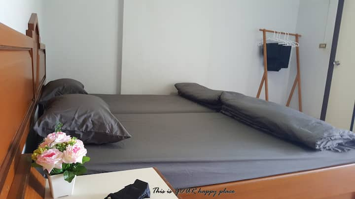 Happy-T-Room#7 Local tips/food+Close to Sukhothai