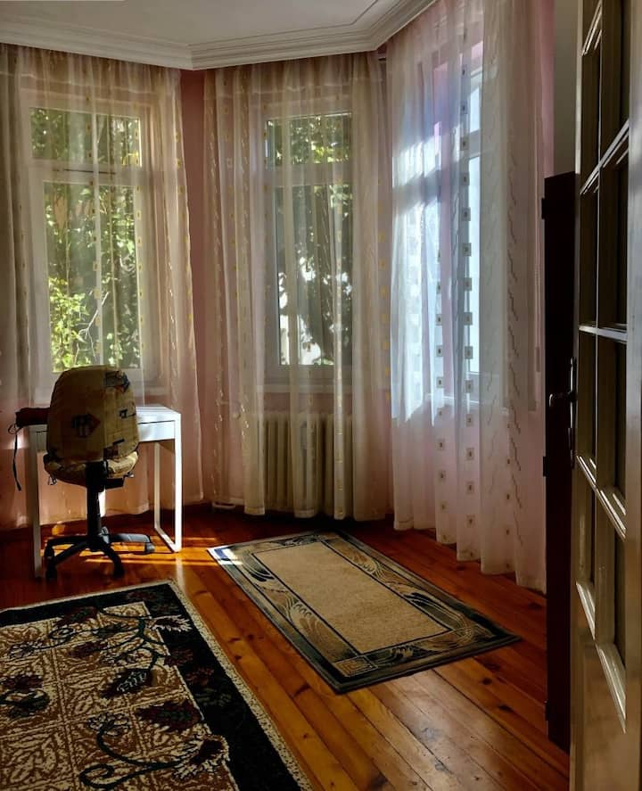 Bright and quiet room in the heart of Sofia II