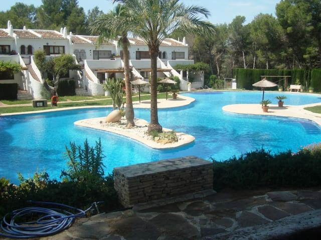 26 Los Lagos, a 1 bedroom apart with amazing pool - Dénia - Apartment