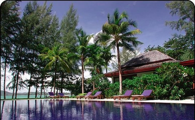 VILLA : BAAN CHAI NAM : ON THE BEACH - Tambon Thep Kasattri - House
