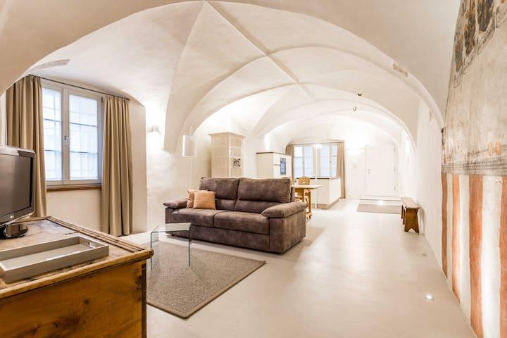Laubenhaus Apartment deluxe with fresco - Bolzano - Daire