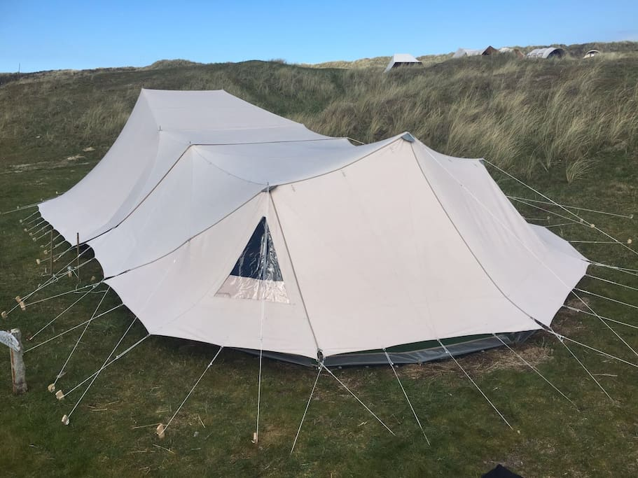 6 persoons tent