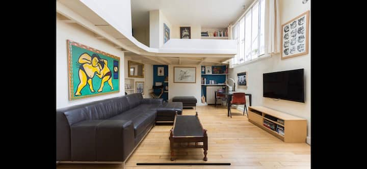 Loft in Pigalle «new in airbnb »