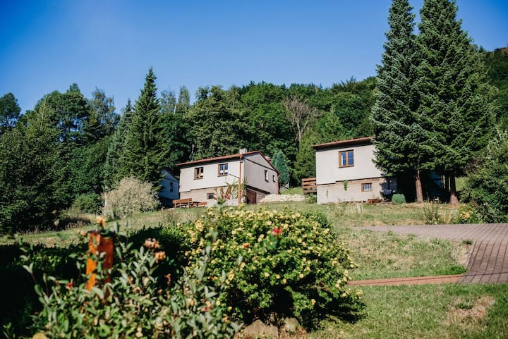 Rodinné bungalovy U Haliny Tyra Natura