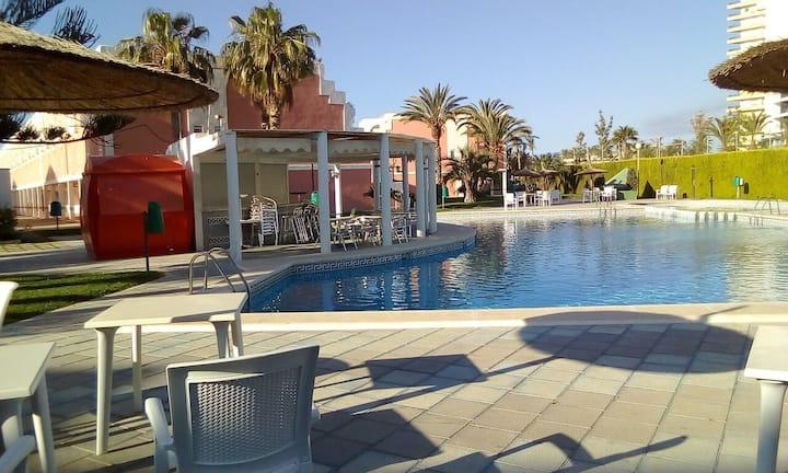 Duplex dans résidence haut standing avec piscine