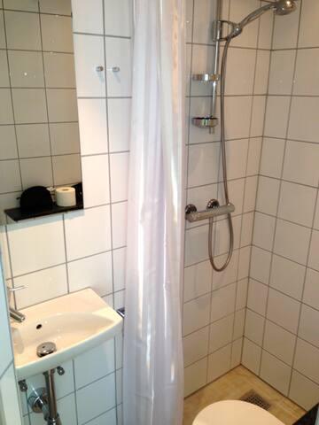 Small shared bathroom