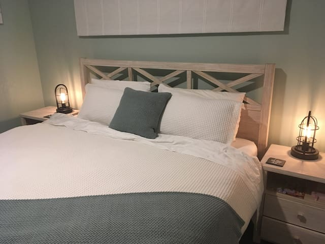 Master Bedroom with a superbly comfortable super king bed