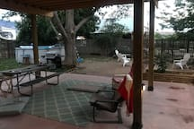 Patio - pool -grill -fire pit