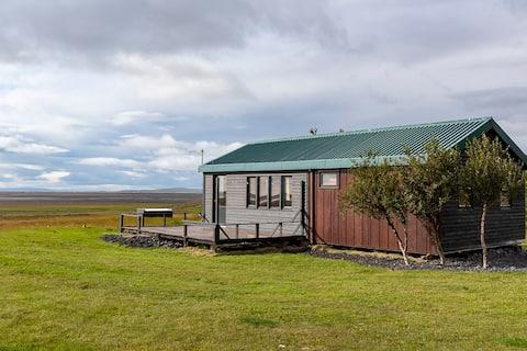 Sjarmerende 2-sengs hytte nær Seljalandsfoss