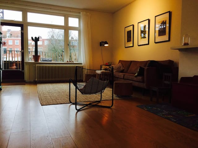 Spacious light appartement with 4 bedrooms - Groningen - Apartment