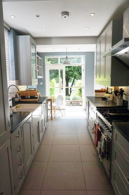 The kitchen is fitted out to an exceptional standard with a range oven, double sink and of course, a toasted sandwich maker. A Nepresso machine and of course a selection of teas are provided.