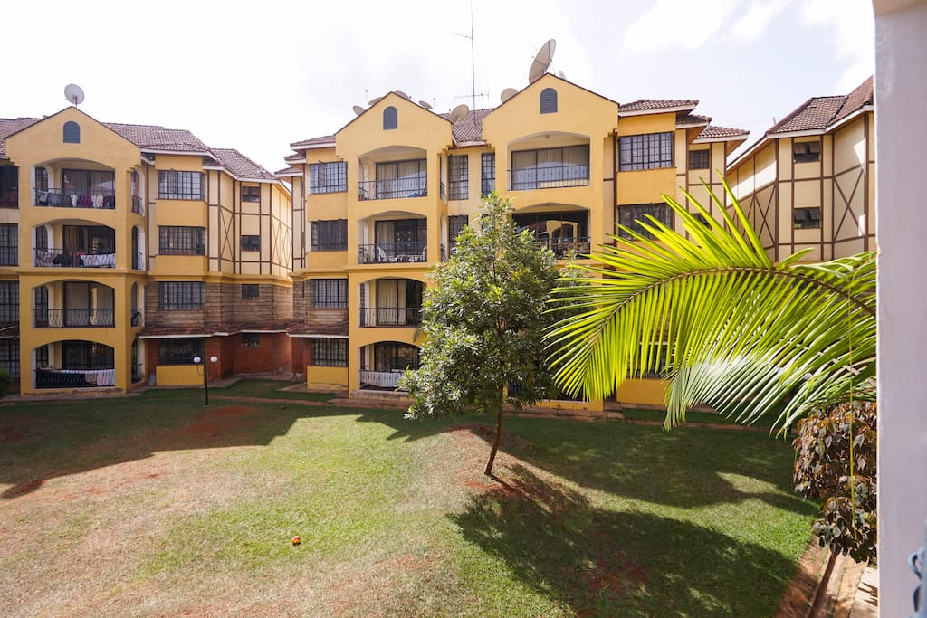 Serene garden iv single room with pool flats for rent for Pool garden restaurant nairobi