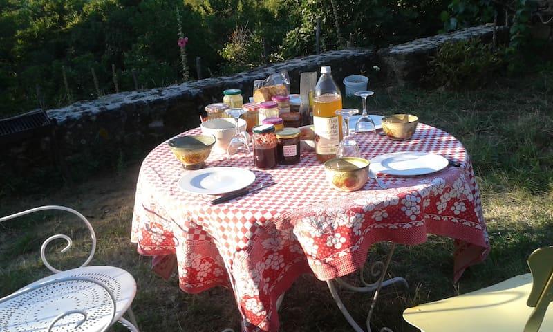 Chambres d'hôtes écolos du Truchet - Pélussin - Bed & Breakfast
