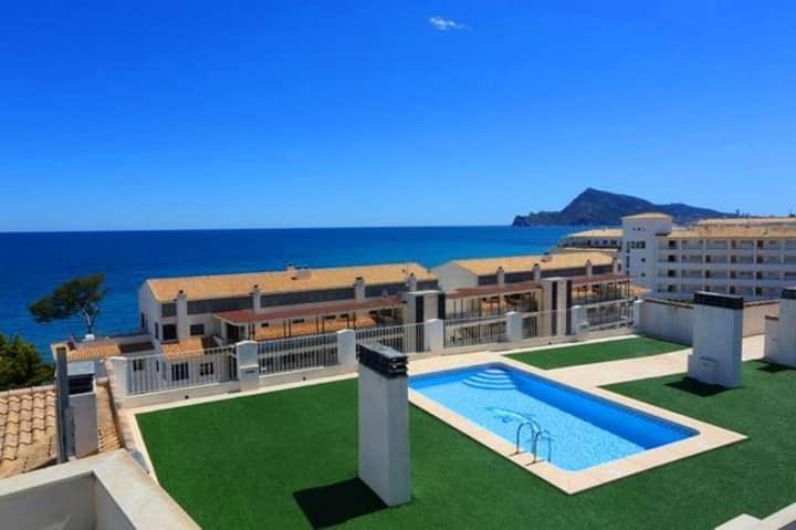 Confortable apartamento cerca del mar en Altea