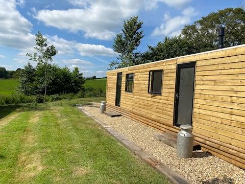 Dorset countryside cabin retreat