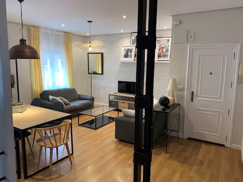 Amplio y moderno apartamento en Valladolid