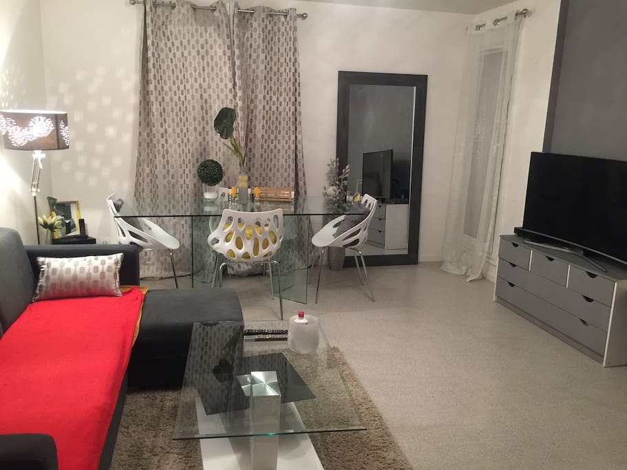 Appartement spacieux moderne a l 39 hay les roses for Les appartement moderne