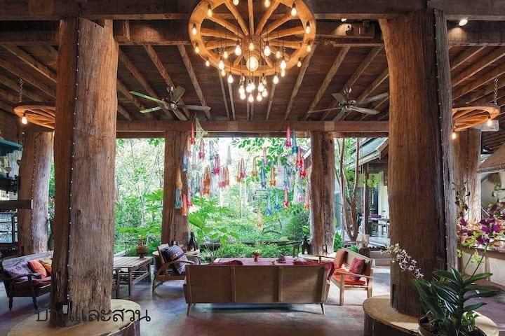 BaanBooLOo @ Sticky Rice house Village