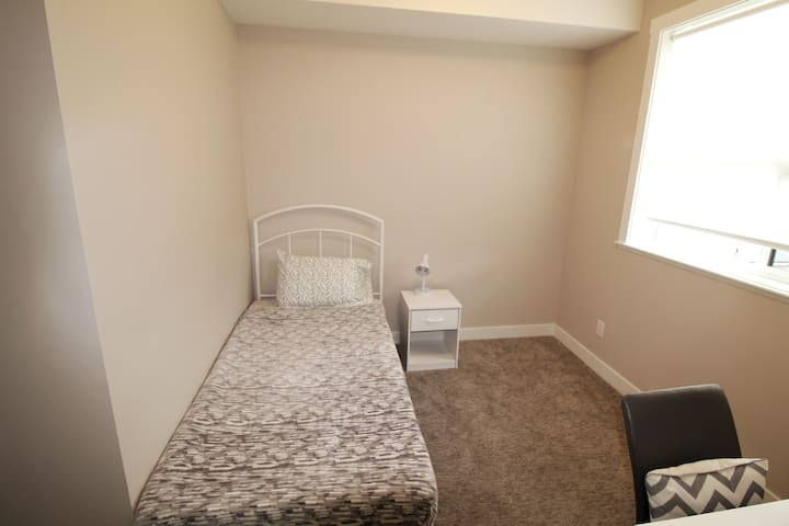 Second bedroom with single bed